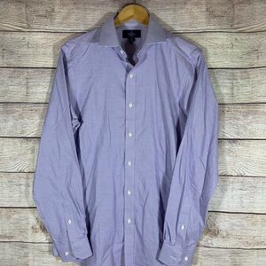 Buttoned Down Brand fitted non iron
